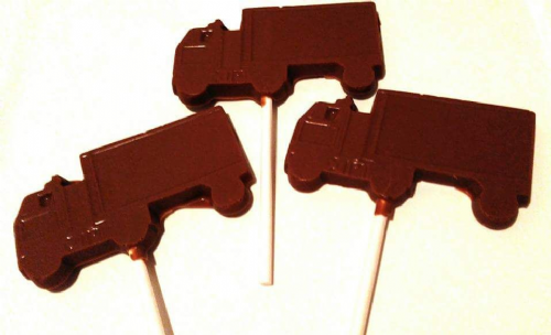 Chocolate Lorry Lolly